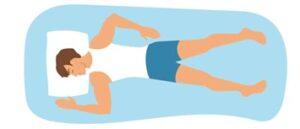 almohada para dormir boca abajo
