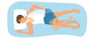 almohada para mezcla de estilos de dormir